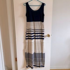 International Company Maxi Dress stripes XL